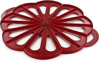 Lily cook KP5290 Emporte-pièce pour 8 à 16 Croissants, PS, Rouge, 39 x 32 x 1,7 cm