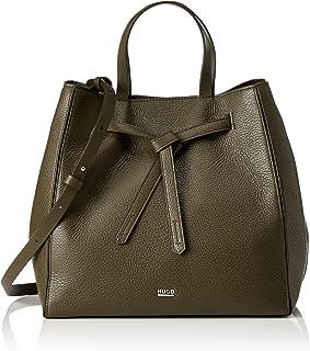 HUGO Numa-r 10195704 01,女式手提包,米色(深米色),14x26x23 厘米 (B x H T)