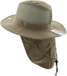 22162dd6ad91f4 JFH Wide Brim Bora Booney Outdoor Safari Summer Hat w/Neck Flap & Sun  Protection
