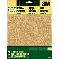 Deals on 3M Aluminum Oxide Sandpaper 9x11-in Sheets 9005NA