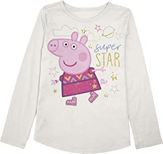 Jumping Beans Toddler Girls 2T-5T Peppa Super Star Graphic Tee