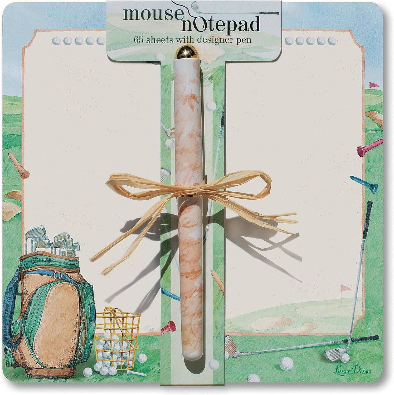 Lissom Design Maus Note Pad, Hole in One B005DST0X2  | Vorzüglich