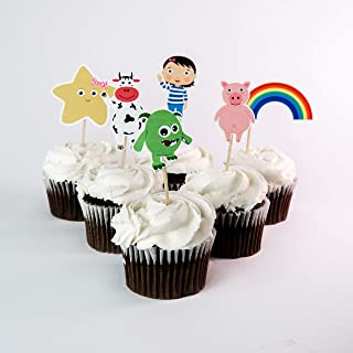 Little Baby Bum Cupcake Toppers
