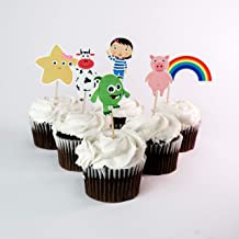 little baby bum birthday cake toppers