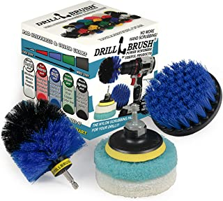 Cleaning Supplies - Bathroom - Kitchen - Drill Brush - Scouring Pad - Kit - Shower Cleaner - Bathtub - Bath Mat - Shower C...