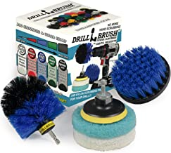 Cleaning Supplies - Bathroom - Kitchen - Drill Brush - Scouring Pad - Kit - Shower Cleaner - Bathtub - Bath Mat - Shower C...