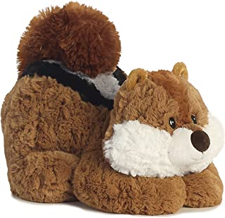 Aurora 16856 World Tushies Animals/Chitter Plush, Brown