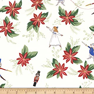 nutcracker fabric michael miller