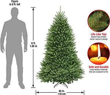 National Tree 6 Foot Dunhill Fir Tree (DUH-60), 6 ft