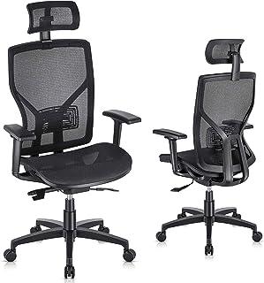 Executive Chair With Adjustable Lumbar Suppor