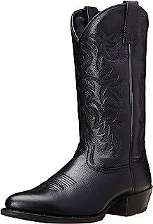 حذاء Ariat Heritage ذو مقدمة مستديرة غربية - حذاء رعاة البقر ذو مقدمة دائرية للرجال