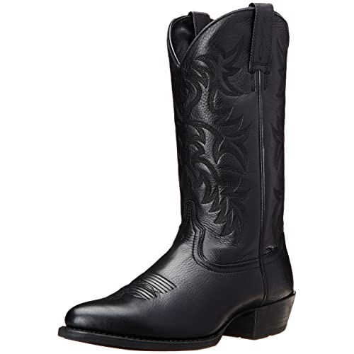 catch professional design sneakers for cheap Black Men's Cowboy Boots: Amazon.com