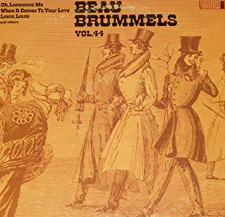 BEAU BRUMMELS Vol. 44 LP original 1st US pressing VAULT 121 garage psych STONEGROUND