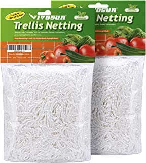VIVOSUN 2 Pack Heavy Duty Polyester Plant Trellis Netting 5 x 30ft