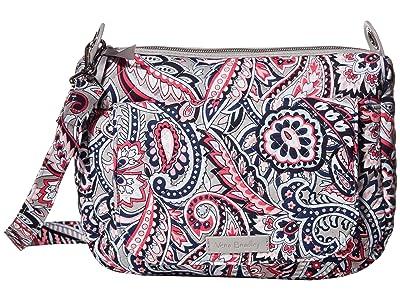 Vera Bradley Carson Mini Shoulder Bag (Gramercy Paisley) Cross Body Handbags