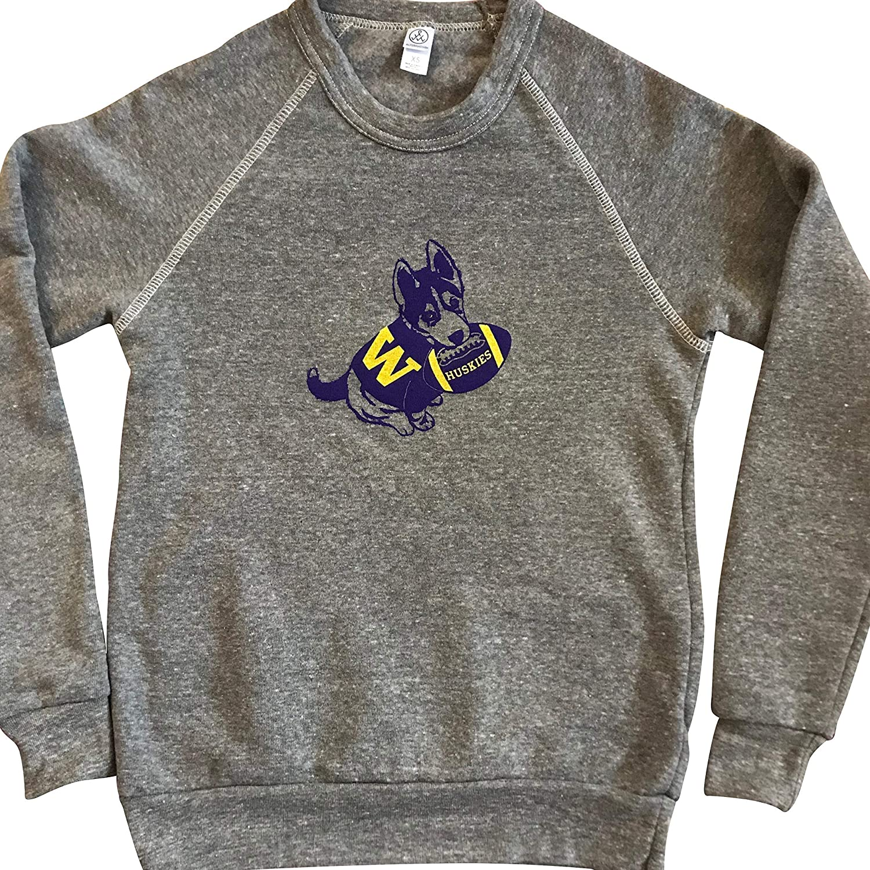 University of Max 47% OFF Washington Limited time trial price Husky Pup Crewneck - Sweatshirt Fleece