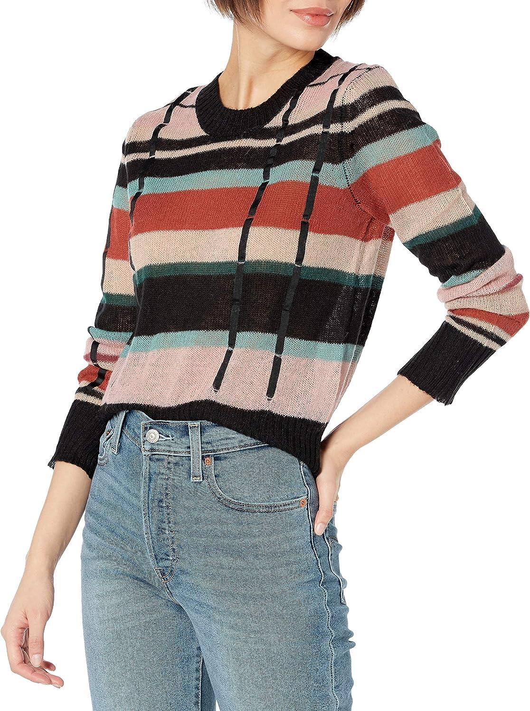 Ella Moss Women's Dense Crop Pullover Sweater