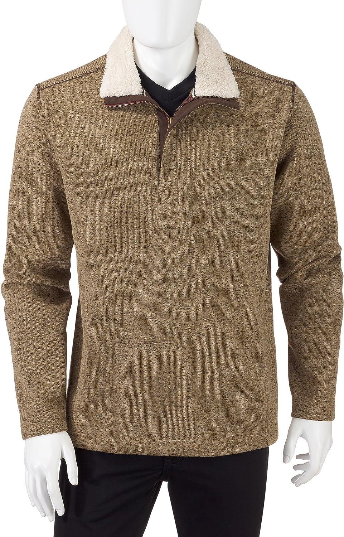 Weatherproof Vintage Men's Fleece 1/4 Zip Pullover