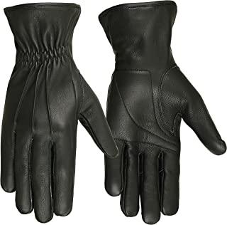 Men's Hugger Affordable 3 Seam Padded Palm Driving, Motorcycle Glove