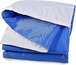 Mattress Pad Sheet Protector - Soft Quilted Cotton with a Waterproof Layer to Protect your Mattress and Keep Sheets and Li...