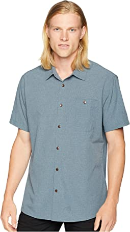 Short Sleeve Woven Tech Shirt 2