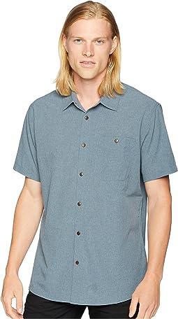 Short Sleeve Woven Tech Shirt 2