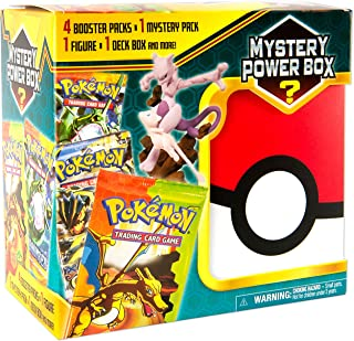 Pokemon Mega Mystery Box 3 + 4 Booster Pack + 1 GX Or Ex Foil Card + Factory Sealed Pack