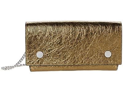 AllSaints Albert Wallet (Gold) Handbags