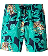 Vilebrequin Kids - Octopussy and Coquillages Swim Trunk (Big Kids)