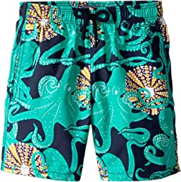Octopussy and Coquillages Swim Trunk (Big Kids)