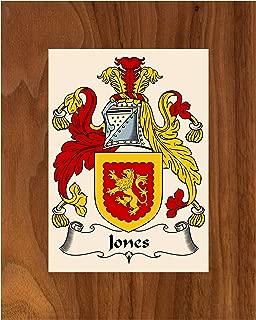 Carpe Diem Designs Jones (Wales) Coat of Arms/Jones-Wales Family Crest 8X10 Photo Plaque, Personalized Gift, Wedding Gift