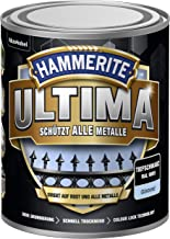 5379724 Hammerite ULTIMA metaalbescherming lak roest 750ml glanzend diepzwart RAL 9005