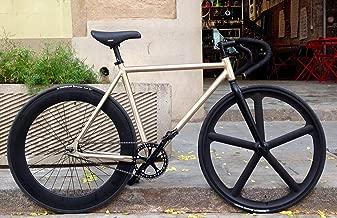 Bicicleta MOWHEEL Raw T-54cm de velocidad fija / una velocidad