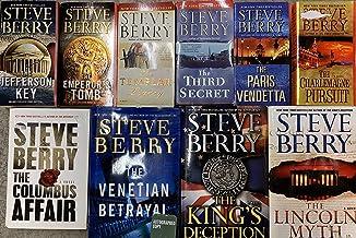 Steve Berry Thriller Novel Collection 10 Book Set