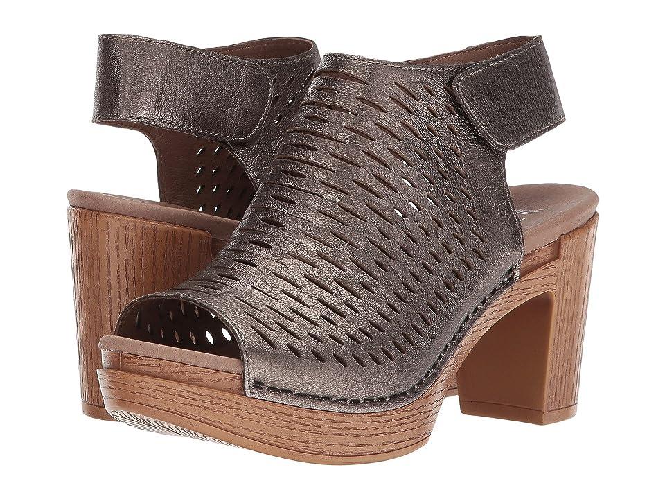 Dansko Danae (Pewter Nappa) High Heels