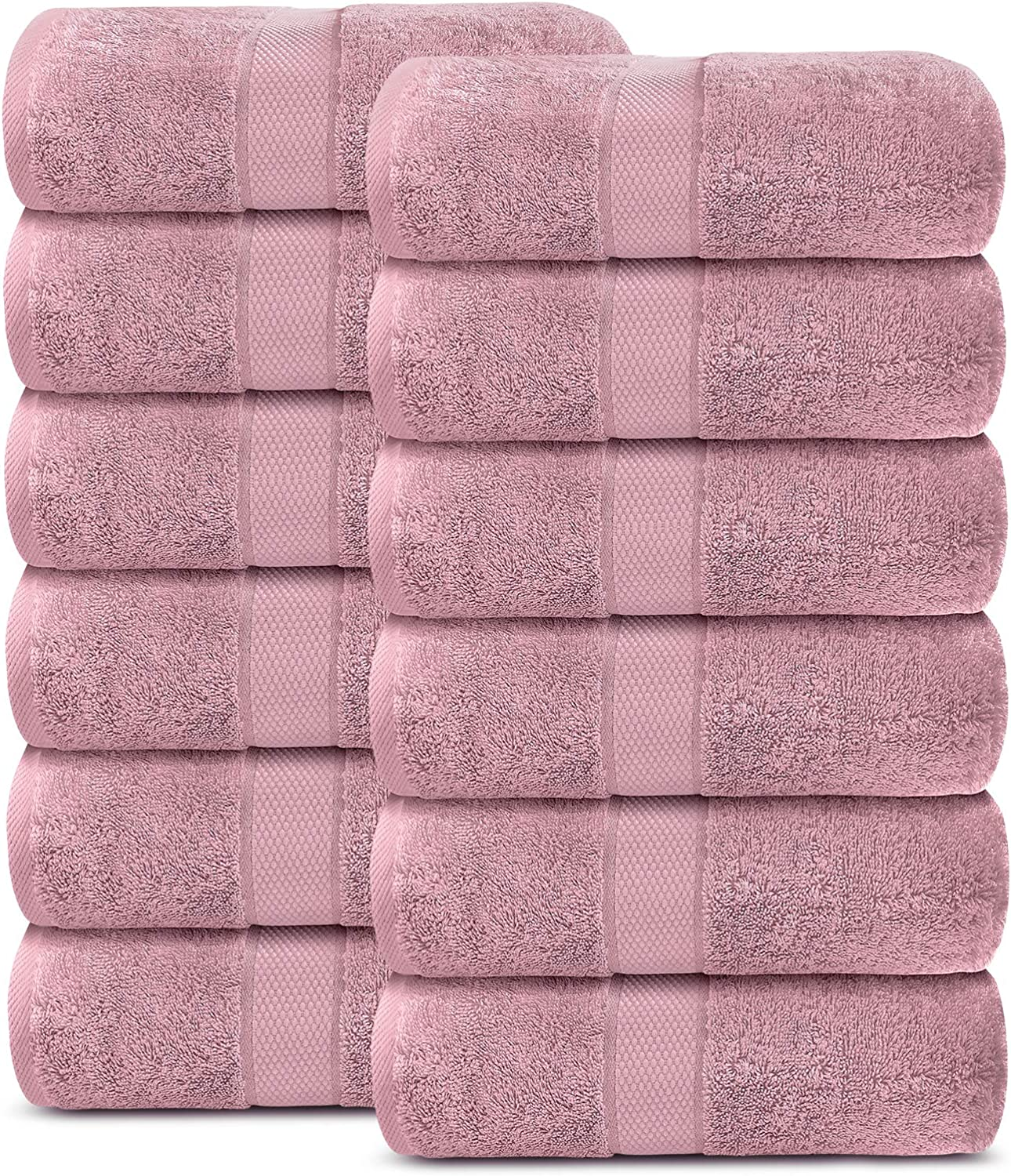 100% Cotton Towels Pack of 12 Heavy Face 600 Online limited product GSM Plush service