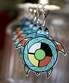 native american medicine wheel pendant