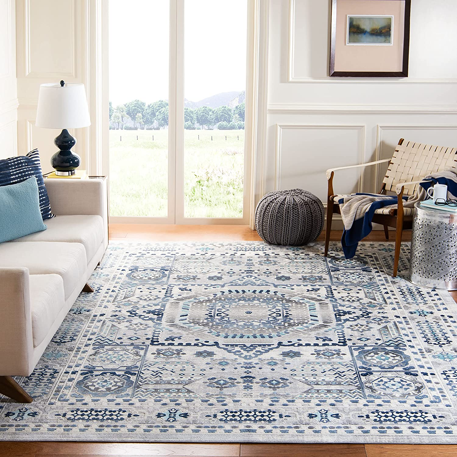 Large special price !! Safavieh Aria Collection ARA714F Product Distressed N Oriental Medallion