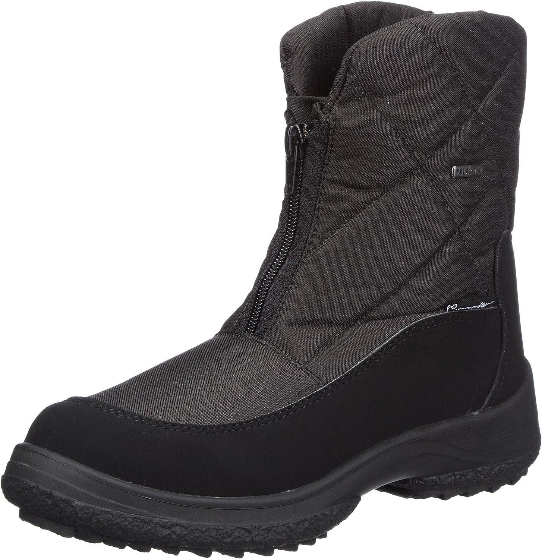 Manitu Polartex Damen Stiefel, Schneeboots black, 990414-1
