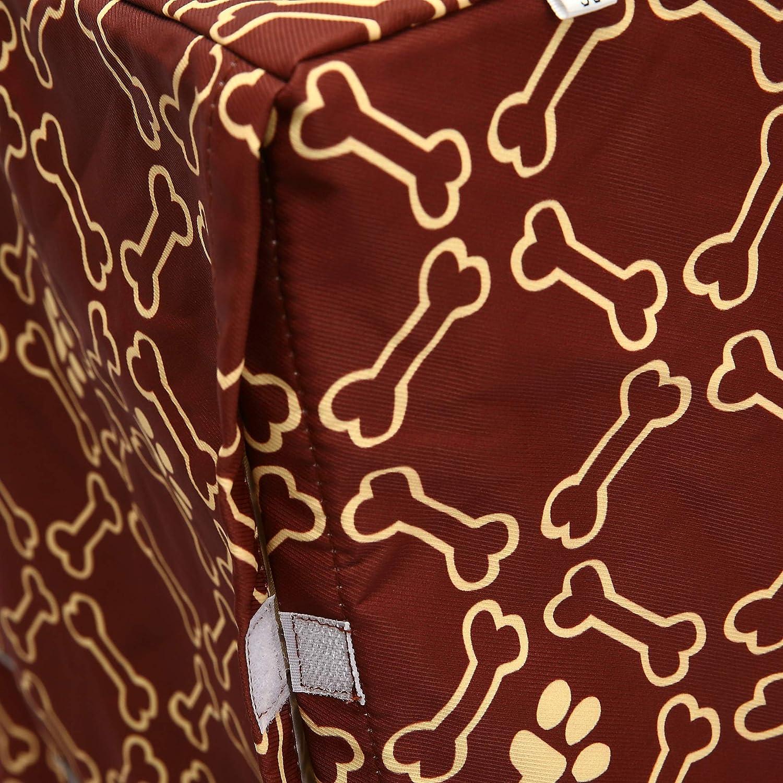 copertura solo per tutta la taglia S colore: grigio adatta alla maggior parte delle casse per cani Copertura per gabbia per cani in poliestere resistente universale