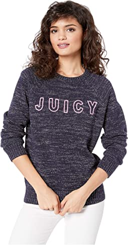 Juicy Logo Pullover Sweater