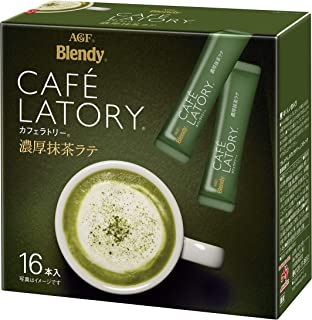 AGF ブレンディ カフェラトリー スティック 濃厚抹茶ラテ 16本 【 粉末 抹茶 】