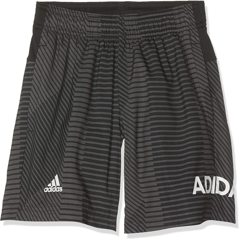 adidas Short Kids Training Graphic Junior Boys Shorts Running Sporty