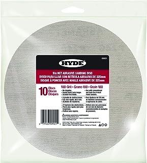 """Hyde 09921 9"""" Disk Abrasive Sanding Net, 180 Grit, 10 pack"""