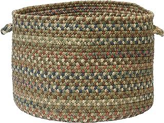 Storage Rack with 5 Fabric Baskets Cedar Wood Beige K0E8