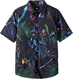 Vans Kids Neo Jungle Short Sleeve Woven (Big Kids)