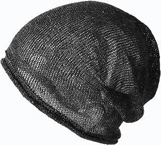 (エッジシティー)EdgeCity ヘンプ サマーニット帽 大きいサイズ 日本製 シームレス 春夏秋