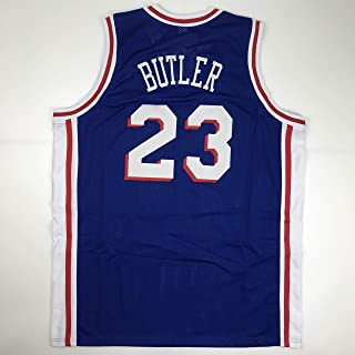 be02475f517 Unsigned Jimmy Butler Philadelphia Blue Custom Stitched Basketball Jersey  Size Men's XL New No Brands/