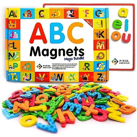 Eva Magnetic foam letters blue pack fridge magnet