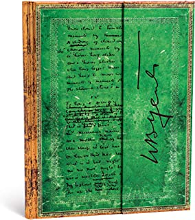 Paperblanks Diari a Copertina Rigida Yeats, Pasqua 1916 | Righe | Ultra (180 × 230 mm)